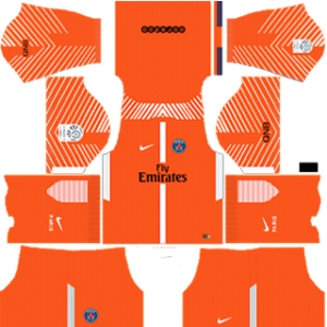Paris Saint-Germain Goalkeeper Home Kit: