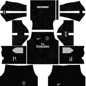Paris Saint-Germain Third Kit: