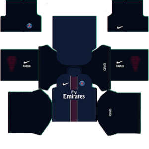 Paris Saint-Germain Kits (Special) 2015/2016 Dream League Soccer