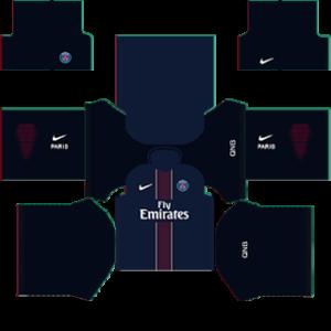 Paris Saint-Germain Kits (Special) 2015/2016 Dream League Soccer
