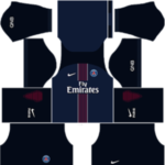 Paris Saint-Germain Kits 2016/2017 Dream League Soccer