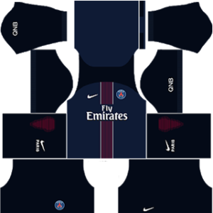 Paris Saint-Germain Kits 2016/2017 Dream League Soccer