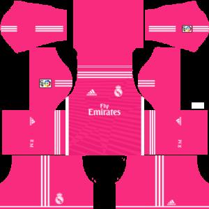 Real Madrid Away Kit 2015