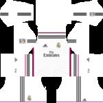 Real Madrid Kits 2014/2015 Dream League Soccer