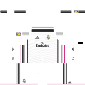 Real Madrid Kits 2014/2015 Dream League Soccer