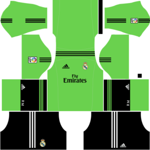 Real Madrid Goalkeeper Away Kit 2014