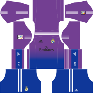 Real Madrid Goalkeeper Home Kit 2014