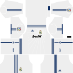 Real Madrid Kits 2010/2011 Dream League Soccer