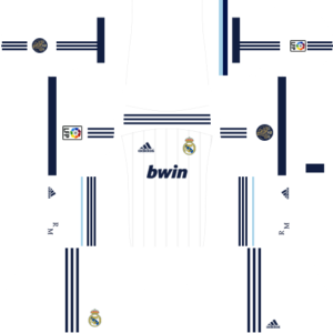 Real Madrid Kits 2012/2013 Dream League Soccer