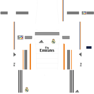 Real Madrid Kits 2013/2014 Dream League Soccer