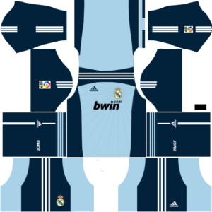 Real Madrid Goalkeeper Away Kit 2011