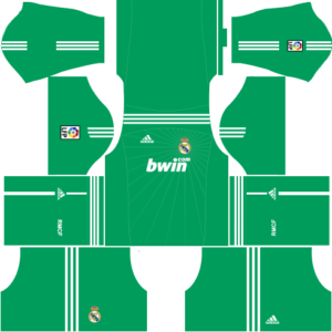 Real Madrid Goalkeeper Home Kit 2011