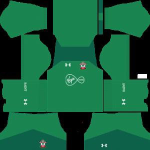 Southampton F.C. Goalkeeper Home Kit: