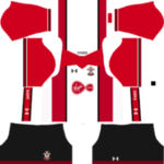 Southampton F.C. Kits 2017/2018 Dream League Soccer