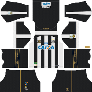 Santos FC Away Kit 2019