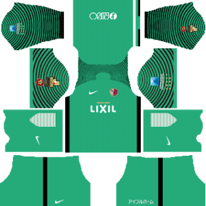 Kashima Antlers Goalkeeper Away Kit 2019