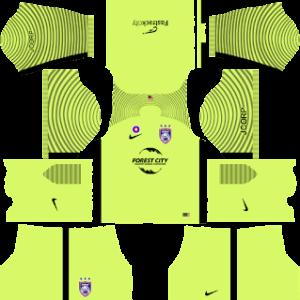 Johor Darul Takzim Goalkeeper Away Kit 2019