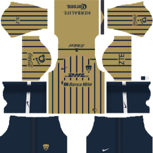 Pumas UNAM Away Kit 2019