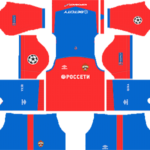 CSKA Moscow Kits 2018/2019 Dream League Soccer