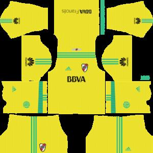 River Plate Goalkeeper Away Kit 2019