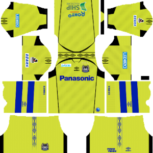 Gamba Osaka Goalkeeper Away Kit 2019