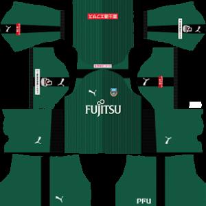Kawasaki Frontale Goalkeeper Home Kit 2019