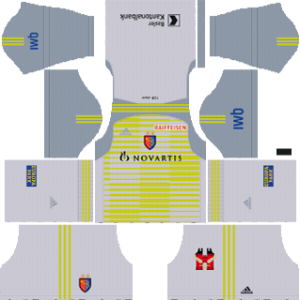 FC Basel Goalkeeper Away Kit 2019
