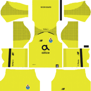 FC Porto Goalkeeper Away Kit 2019