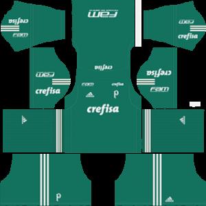 Palmeiras Goalkeeper Away Kit 2019