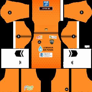 Perak FA Goalkeeper Away Kit 2019