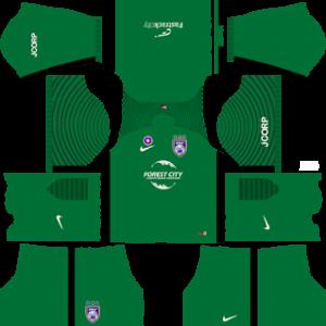 Johor Darul Takzim Goalkeeper Home Kit 2019