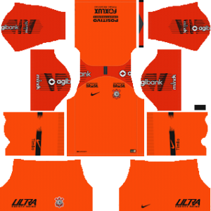 Corinthians Goalkeeper Home Kit 2019