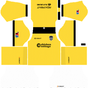 Terengganu FC Goalkeeper Away Kit 2019