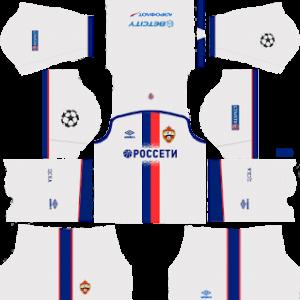 CSKA Moscow Away Kit 2019