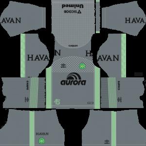 Chapecoense Goalkeeper Away Kit 2019
