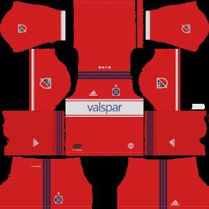 Chicago Fire Kits 2018/2019 Dream League Soccer