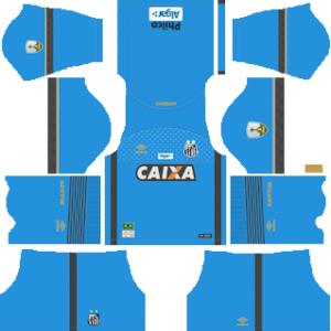 Santos FC Goalkeeper Home Kit 2019
