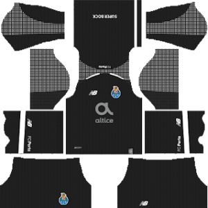 FC Porto Goalkeeper Home Kit 2019