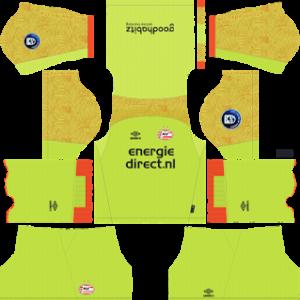 PSV Eindhoven Goalkeeper Home Kit 2019