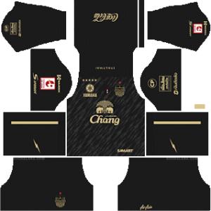 Buriram United Goalkeeper Home Kit 2019