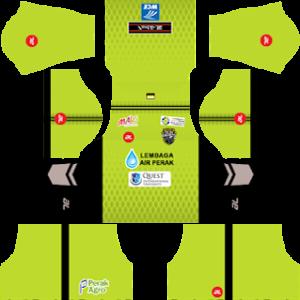 Perak FA Goalkeeper Home Kit 2019