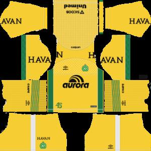 Chapecoense Goalkeeper Home Kit 2019