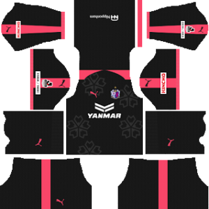 Cerezo Osaka Goalkeeper Home Kit 2019