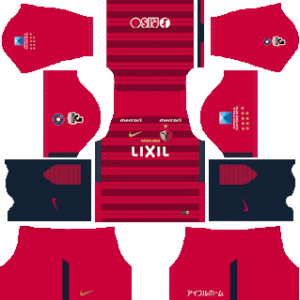 Kashima Antlers Kits 2018/2019 Dream League Soccer