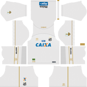 Santos FC Kits 2018/2019 Dream League Soccer