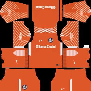 San Lorenzo Goalkeeper Away Kit 2019