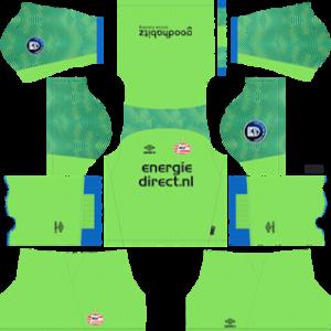 PSV Eindhoven Goalkeeper Third Kit 2019