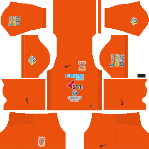 Borneo FC Kits 2018/2019 Dream League Soccer