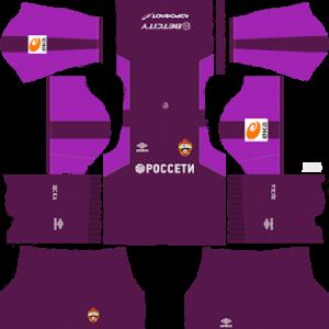 CSKA Moscow Goalkeeper Away Kit 2019