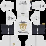 Pumas UNAM Kits 2018/2019 Dream League Soccer